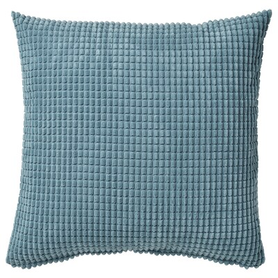 GULLKLOCKA Fodera per cuscino, azzurro, 50x50 cm