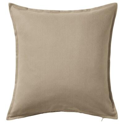 GURLI fodera per cuscino beige 50 cm 50 cm