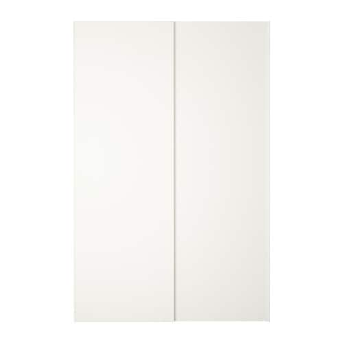 Hasvik coppia di ante scorrevoli 150x236 cm ikea - Ante scorrevoli cucina ikea ...