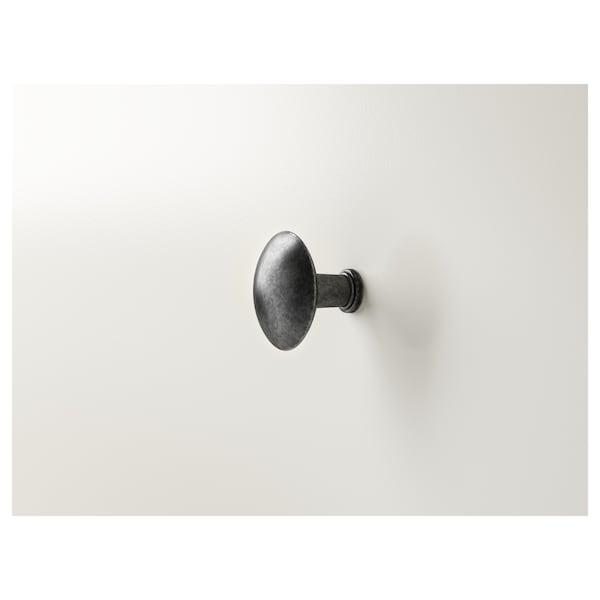 HEMNES Scarpiera a 2 scomparti, bianco, 89x127 cm