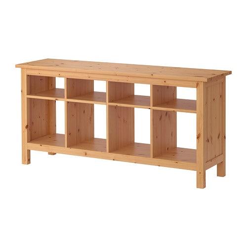 Hemnes tavolo consolle marrone chiaro ikea - Tavoli a consolle ikea ...