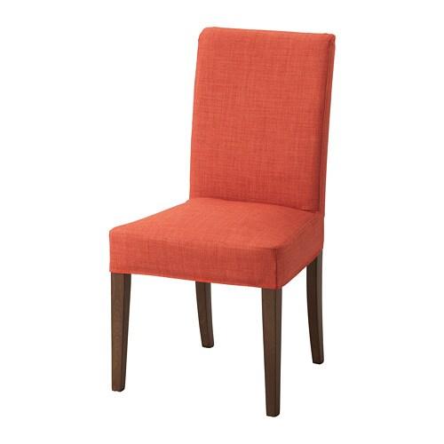 Ikea Sedie Di Legno.Henriksdal Sedia Skiftebo Arancione Scuro Ikea