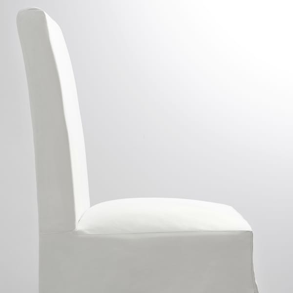 HENRIKSDAL Sedia con fodera lunga, bianco/Blekinge bianco