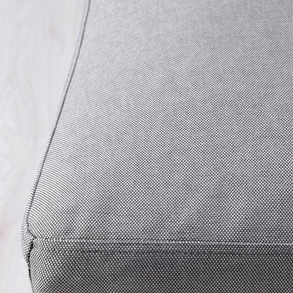 HENRIKSDAL Sedia, marrone scuro/Orrsta grigio chiaro