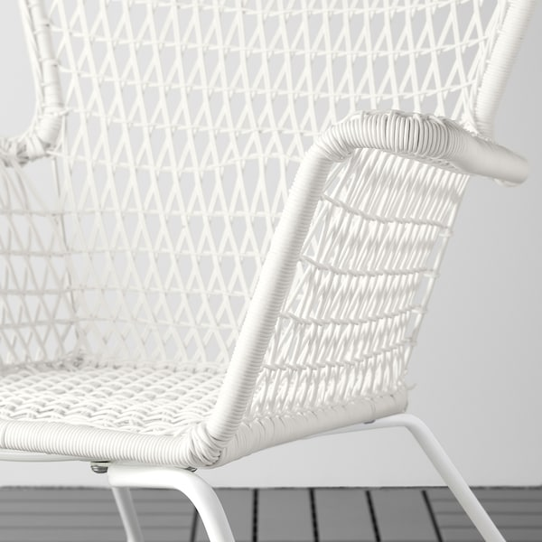 Poltrone Ikea Da Giardino.Hogsten Poltrona Da Giardino Bianco Ikea Svizzera