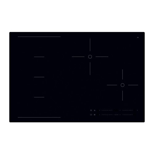 HÖGKLASSIG Piano cottura induzion/zone flessib - IKEA