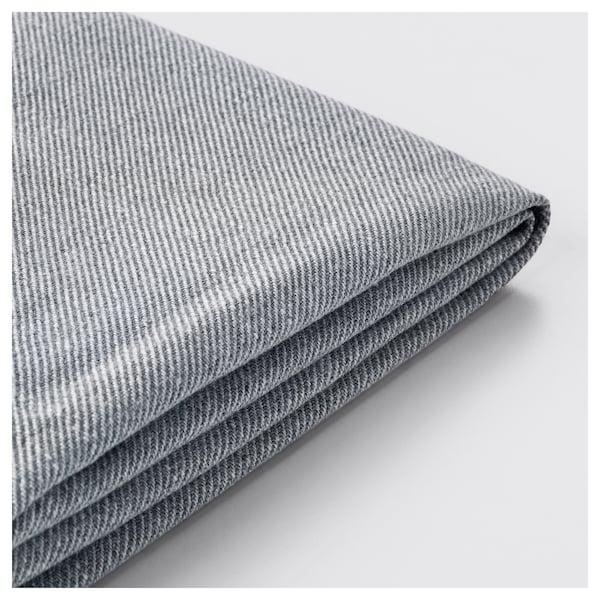 HOLMSUND Fodera per divano letto a 3 posti, Nordvalla grigio fumo