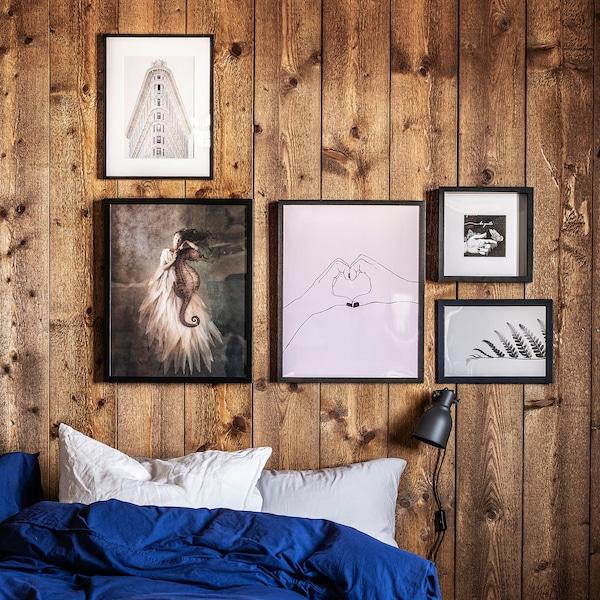 HOVSTA Cornice, marrone scuro, 40x50 cm