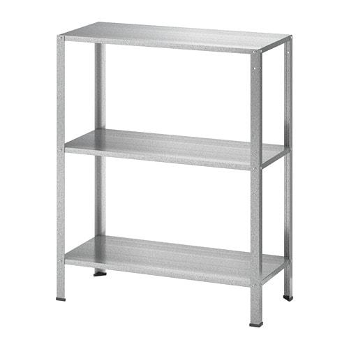 Scaffali In Plastica Ikea.Hyllis Scaffale Da Interno Esterno