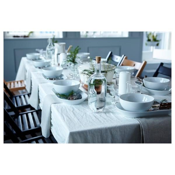 IKEA 365+ Ciotola, bordo arrotondato bianco, 22 cm