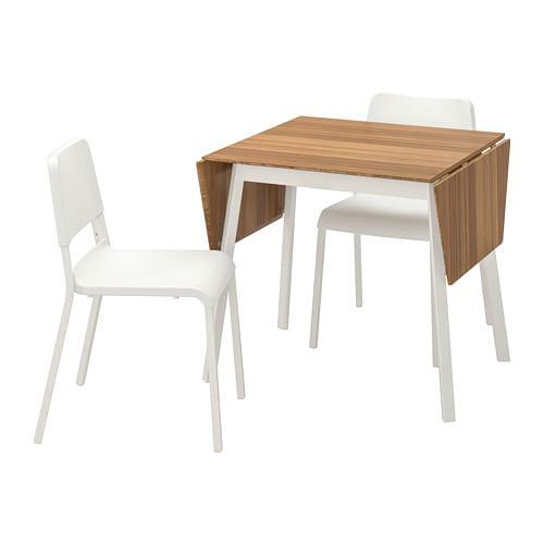 Le Sedie Di Ikea.Ikea Ps 2012 Teodores Tavolo E 2 Sedie Bambu Bianco Bianco