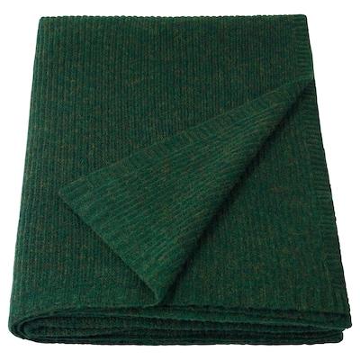 INGASOFIA Plaid, verde, 150x200 cm