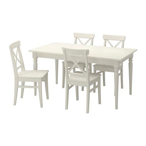 Sedie Legno Grezzo Ikea.Tavolo Legno Sedie Ikea