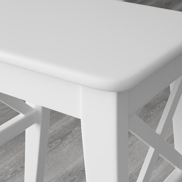 INGOLF Sgabello, bianco