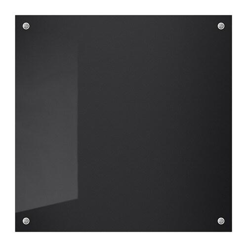 ISHULT Rivestimento da parete su misura, nero vetro