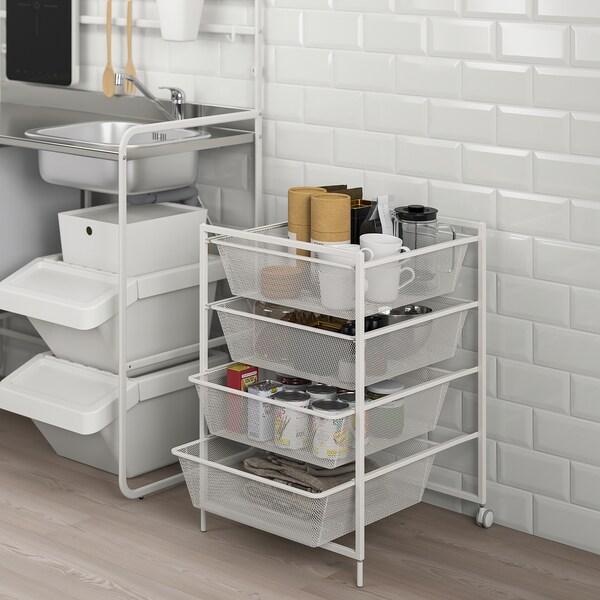 JONAXEL Combinazione di mobili, bianco, 50x51x73 cm