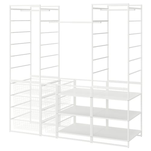 IKEA JONAXEL Struttura/cestelli/bastone/scaffali