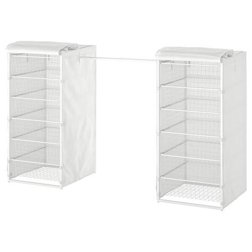 IKEA JONAXEL Struttura/cestelli/bastoni/copertur