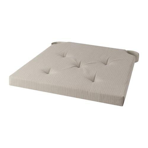 Justina cuscino per sedia 35 42x40x4 0 cm ikea for Cuscini per testata letto ikea