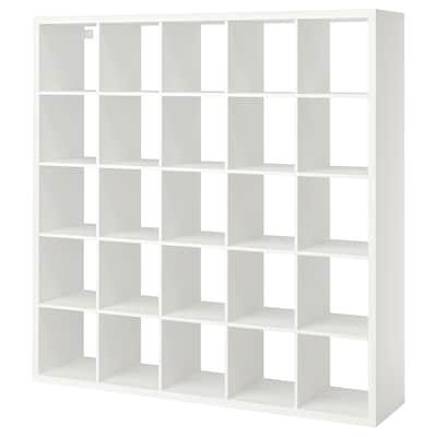KALLAX Scaffale, bianco, 182x182 cm
