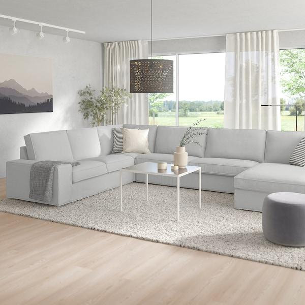 Divani Angolari Offerte Ikea.Kivik Divano Angolare A 6 Posti Con Chaise Longue Orrsta Grigio Chiaro Ikea Svizzera
