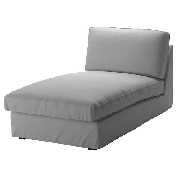 KIVIK Fodera per chaise-longue, Orrsta grigio chiaro