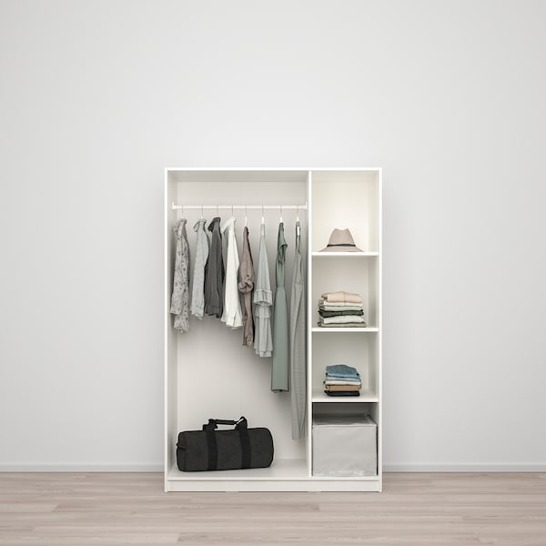 Armadio Guardaroba Ingresso Ikea.Kleppstad Guardaroba Con 3 Ante Bianco Ikea Svizzera