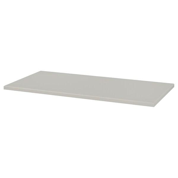 KLIMPEN Piano tavolo, grigio chiaro, 120x60 cm