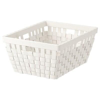 KNARRA cestino bianco 38 cm 29 cm 16 cm