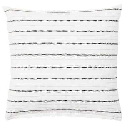KONSTANSE cuscino bianco/grigio scuro 40 cm 40 cm 250 g 375 g