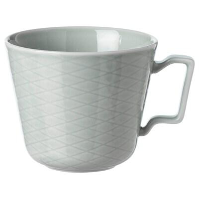 KRUSTAD Tazza, grigio chiaro, 40 cl