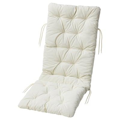 KUDDARNA Cuscino sedile/schienale da esterno, beige, 116x45 cm