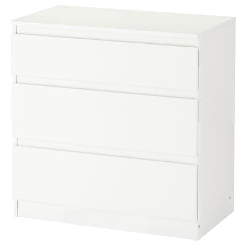 IKEA KULLEN Cassettiera con 3 cassetti