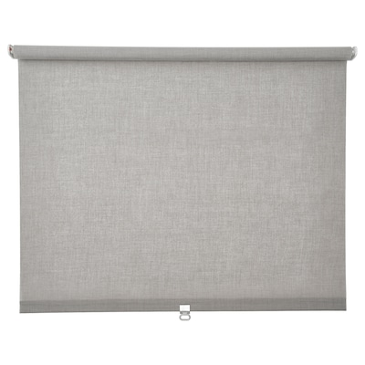 LÅNGDANS Tenda a rullo, grigio, 60x195 cm