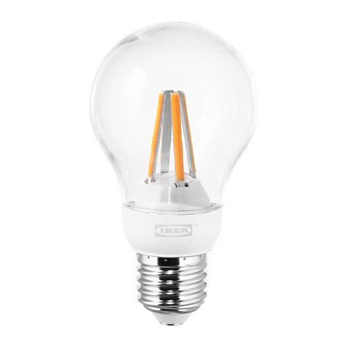 ledare lampadina led e27 600 lumen ikea