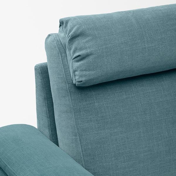 LIDHULT Divano letto a 2 posti, Gassebol blu/grigio