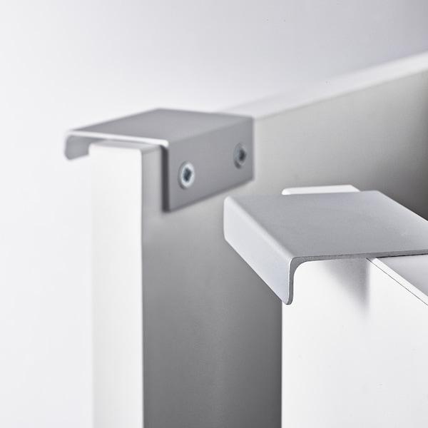 LILLÅNGEN Mobile base per lavabo con 2 ante, bianco, 60x38x51 cm