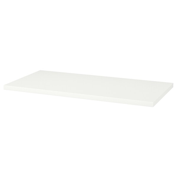 LINNMON Piano tavolo, bianco, 120x60 cm