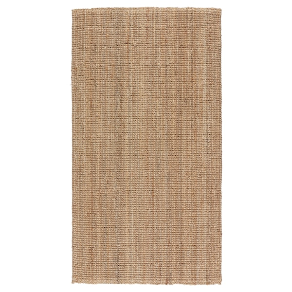 LOHALS Tappeto, tessitura piatta, naturale, 80x150 cm