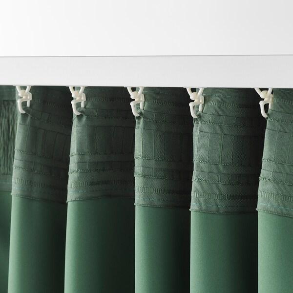Majgull Tenda Oscurante 2 Teli Verde Ikea Svizzera