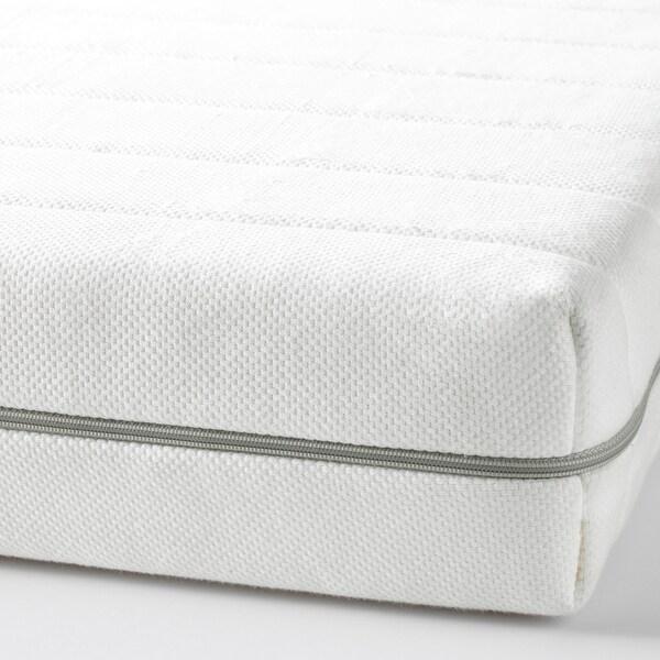 MALFORS Materasso in schiuma, semirigido/bianco, 80x200 cm