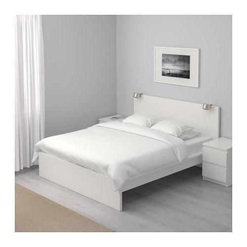 Superbe MALM Struttura Letto Alta   160x200 Cm,  , Bianco   IKEA