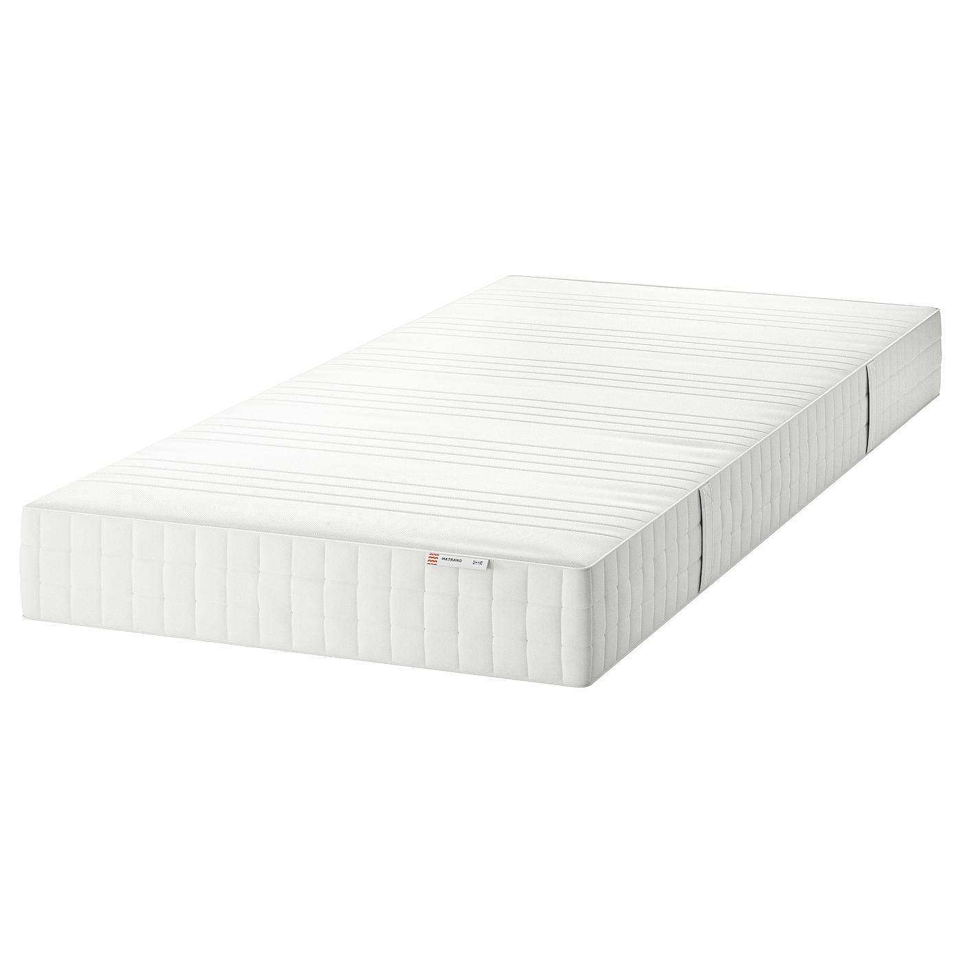 Matrand Materasso In Lattice Semirigido Bianco 80x200 Cm Ikea Svizzera
