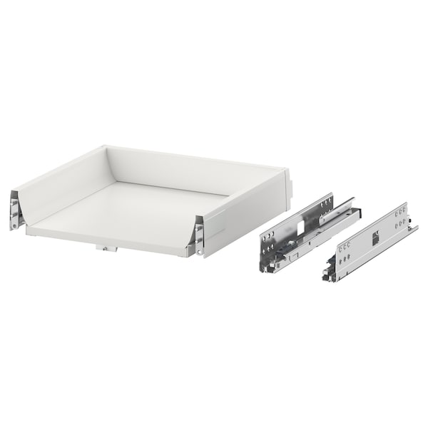 MAXIMERA Cassetto, basso, bianco, 40x37 cm