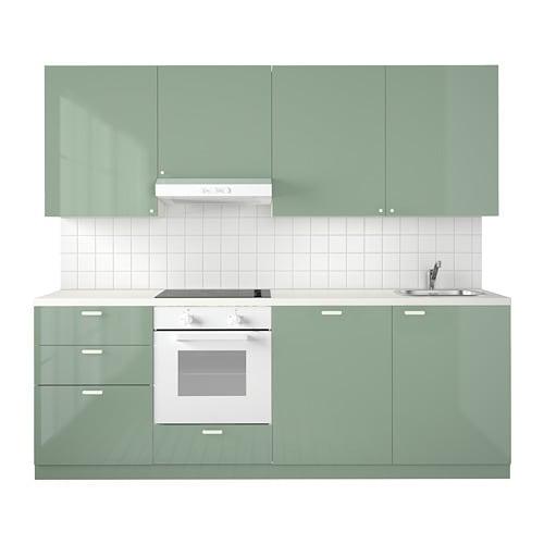 METOD Cucina - Kallarp lucido verde chiaro - IKEA