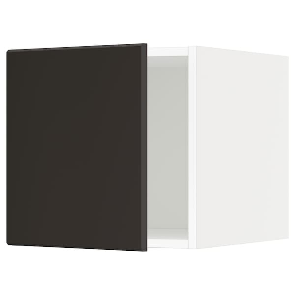METOD Elemento top, bianco/Kungsbacka antracite, 40x40 cm