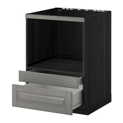 METOD / FÖRVARA Mobile per microonde combi/cassetti - effetto legno ...