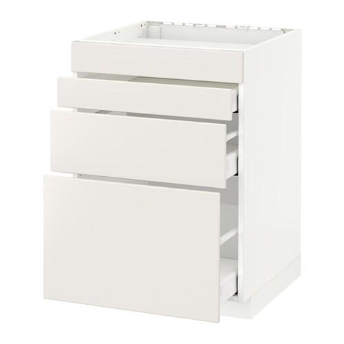 Metod maximera mobile piano cottura 4front 3cass - Piano cottura elettrico ikea ...