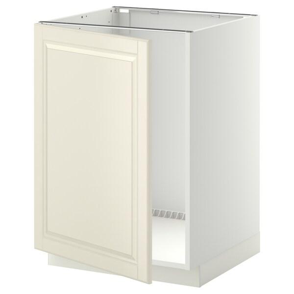 METOD Mobile base per lavello, bianco/Bodbyn bianco sporco, 60x60 cm