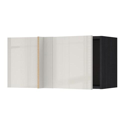 METOD Pensile angolare - effetto legno nero, Ringhult ...
